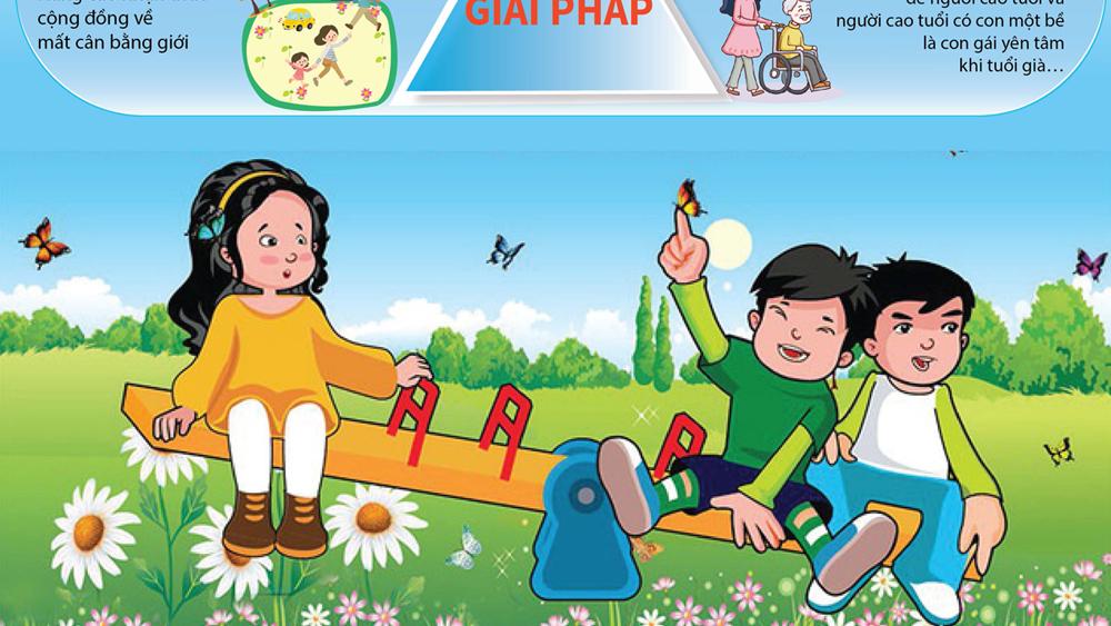 Cảnh báo hệ lụy từ mất cân bằng giới tính ở Việt Nam